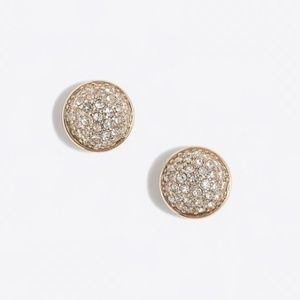 J. Crew Faux Pave Stud Earrings